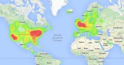 Heatmaps visualize poll votes